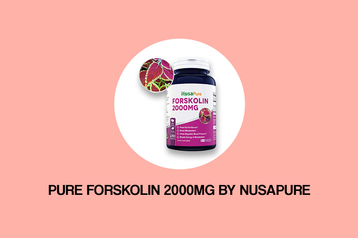 Pure Forskolin 2000mg by NusaPure