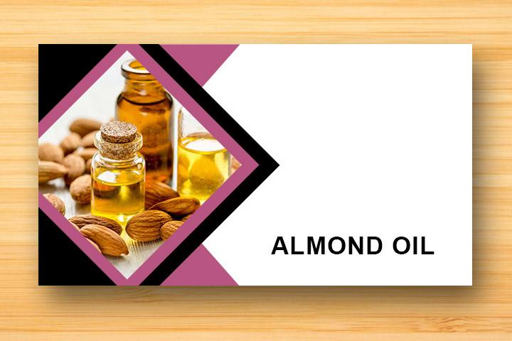 almond oil for damaged hair