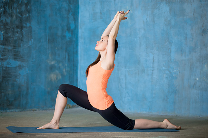 anjaneyasana for weight loss
