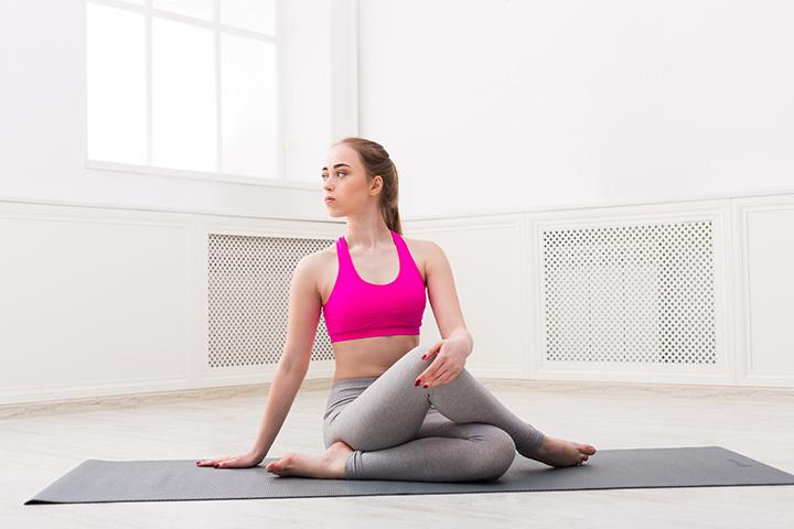 ardha matsyendrasana yoga pose for diabetes