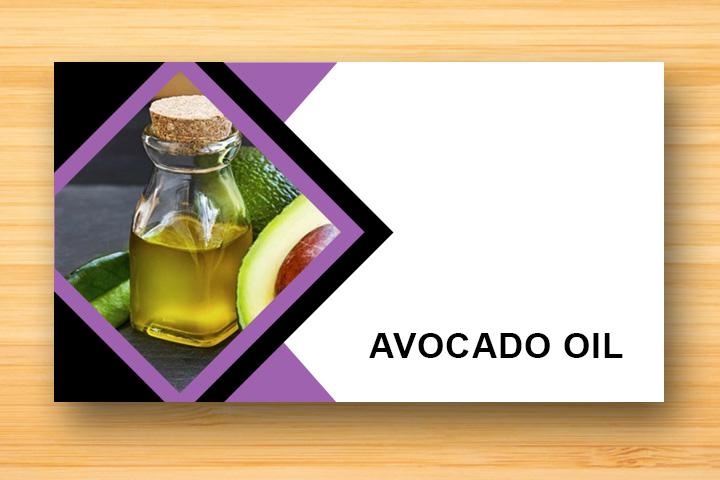 avocado oil for damaged hair