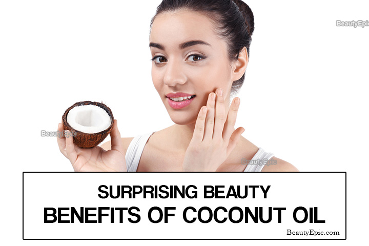 8 Surprising Beauty Benefits of Coconut oil