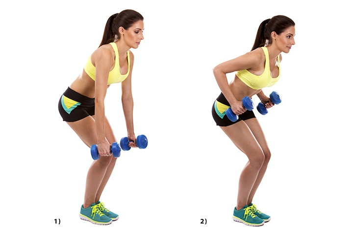 bent over rows for flabby arms