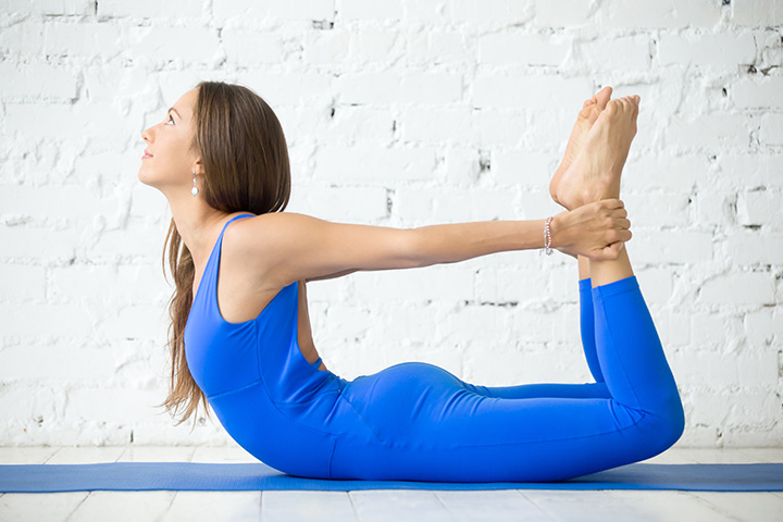 bow pose to increase breast size