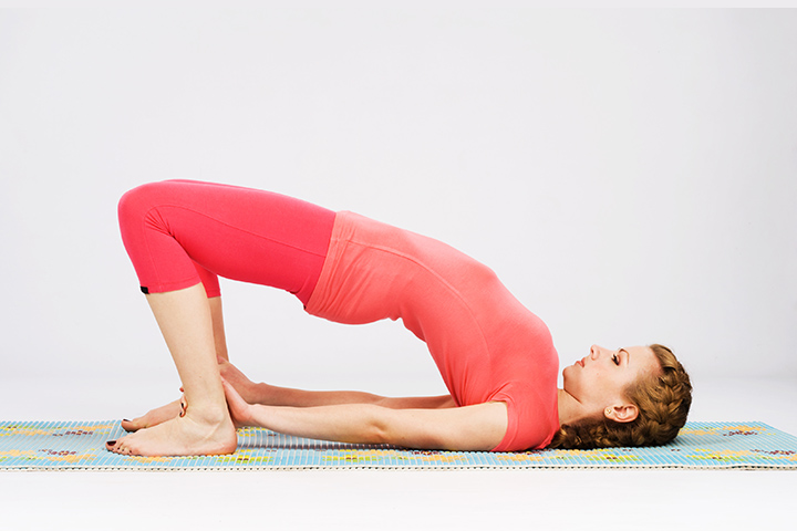 bridge pose anxiety