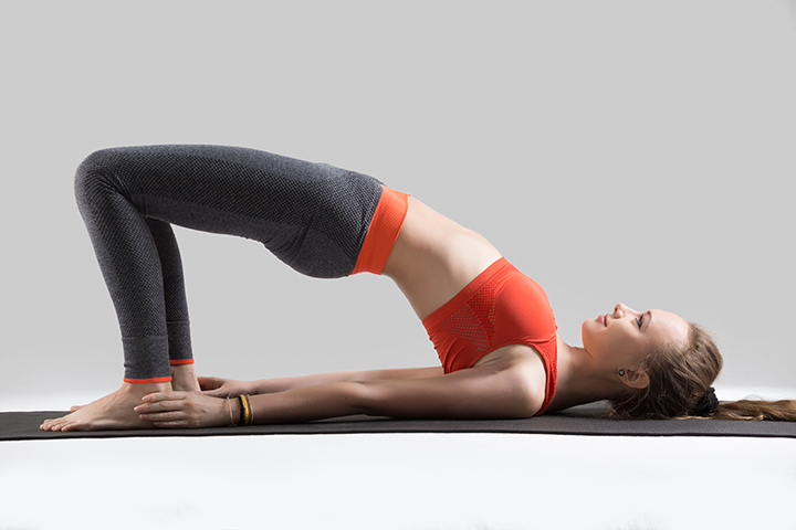 bridge pose for thyroid