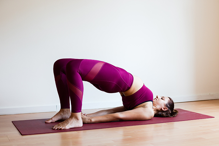 bridge poses for tight hips