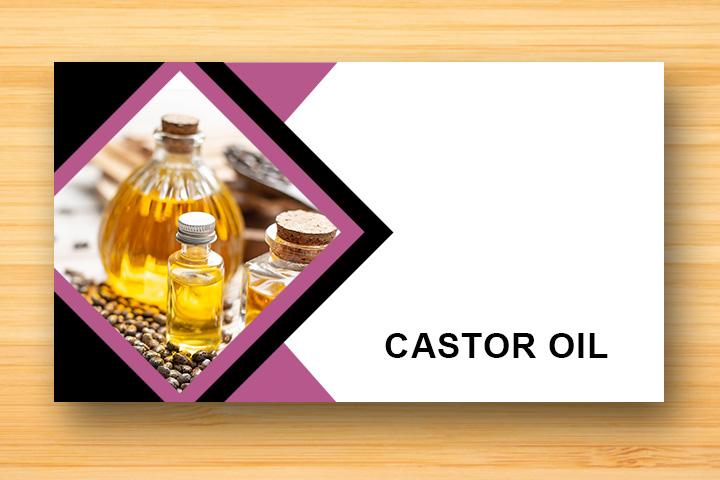 castor oil for damaged hair