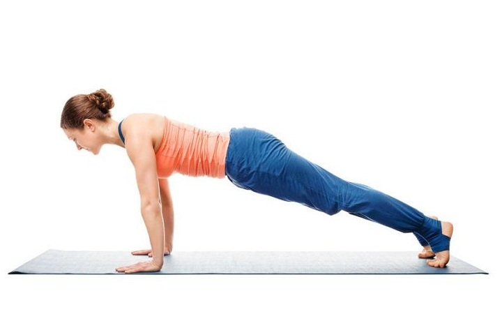 chaturanga dandasana for arms