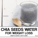 Chia Seeds Water for Weight Loss – Benefits, Recipes and How to Drink