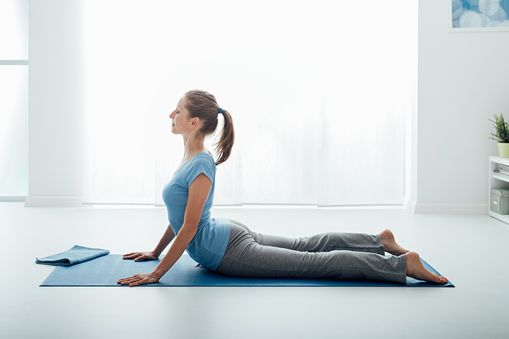 cobra pose for ankylosing spondylitis