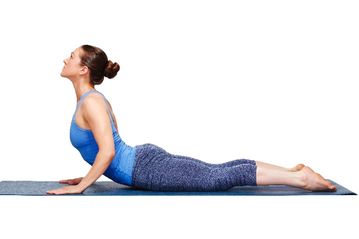 cobra pose for colon cleansing