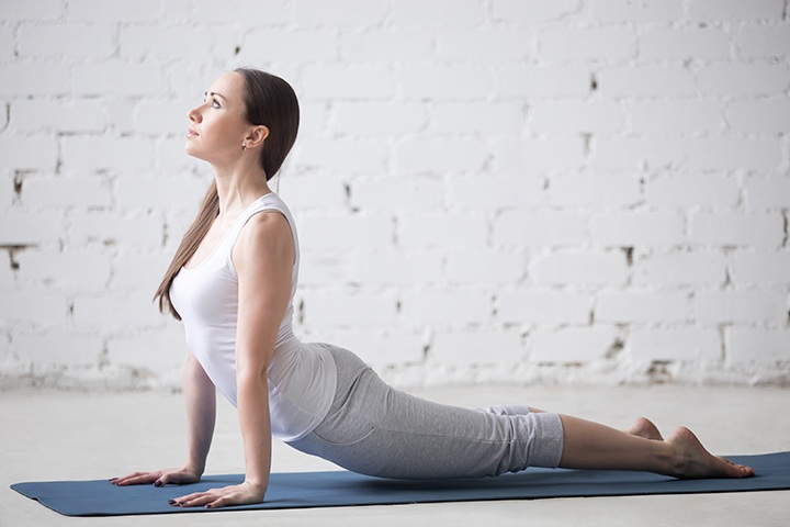 cobra pose to increase breast size