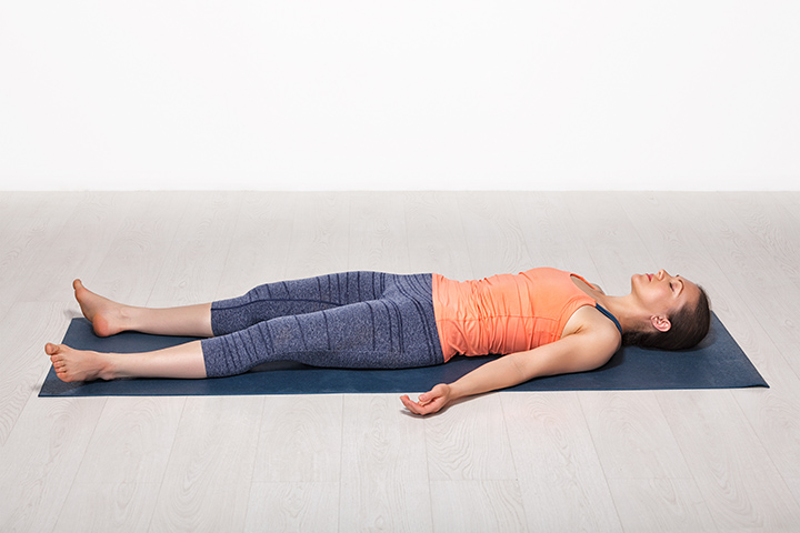 corpse pose for adrenal fatigue