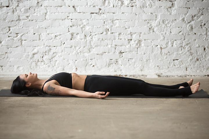 corpse pose for migraine