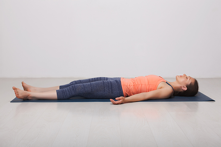 corpse pose for neck pain