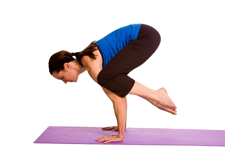 crow pose for colon cleansing