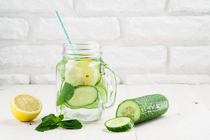cucumber and lemon juice for weight loss