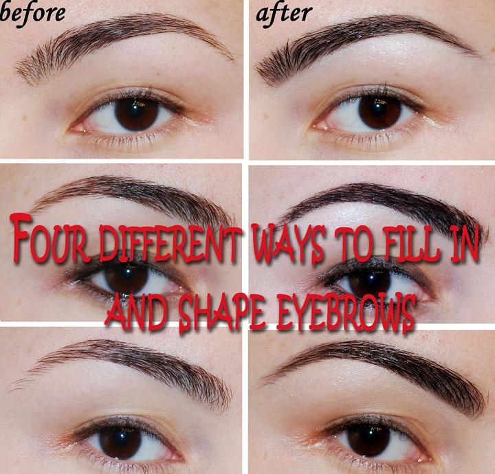 defining eyebrows