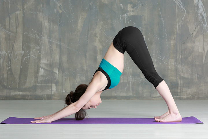 downward facing dog pose for depression