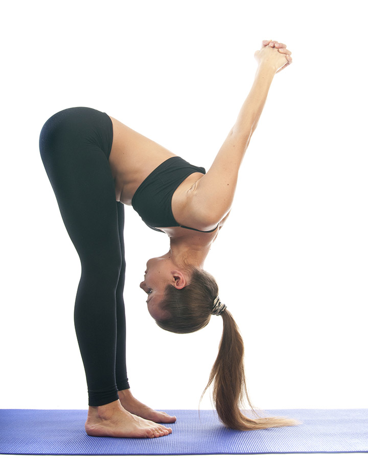 dwikonasana for saggy breast