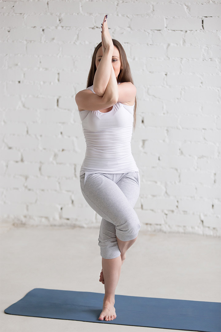 eagle pose for weight loss