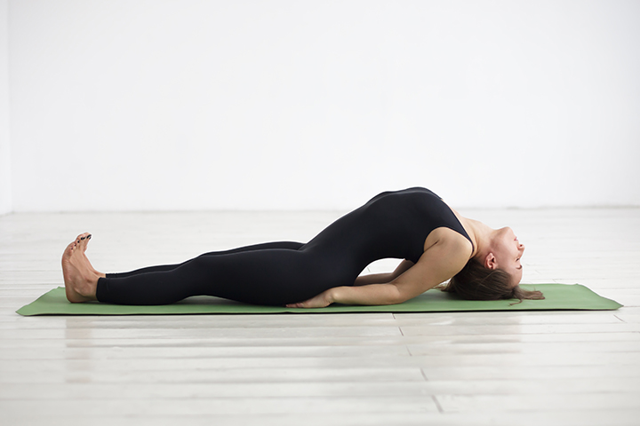 fish pose for pinched nerve