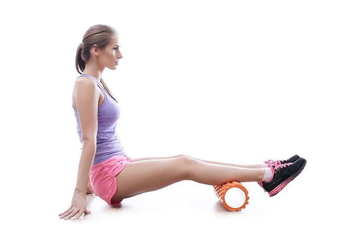 foam roller calf exercise
