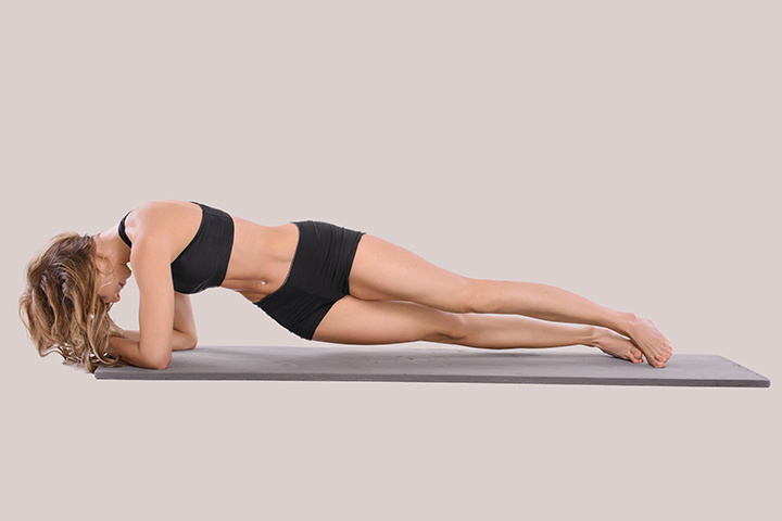 forearm plank hip for slim waist