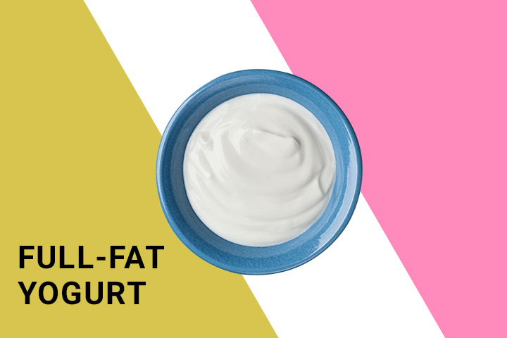 full fat yogurt for weight loss