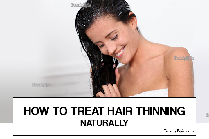 How to Treat Hair Thinning Naturally