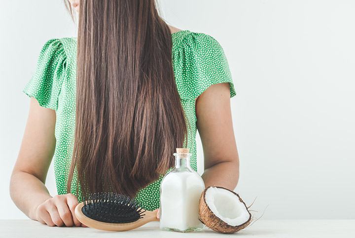 how to use coconut milk for hair straightening