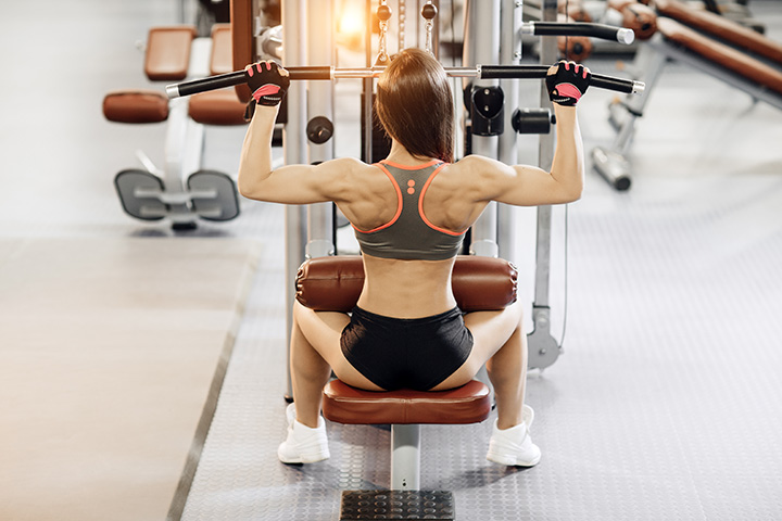 lat pulldown for back fat