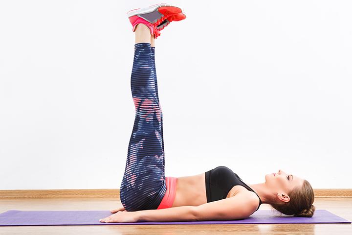 leg raises for belly fat