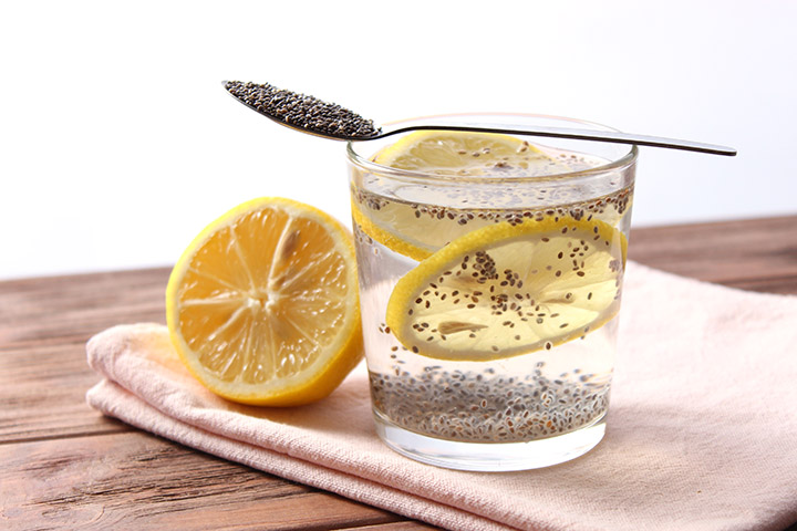 lemon and chia seed drink weight loss