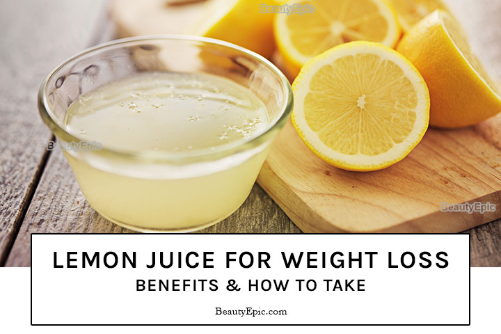 Lemon Juice for Weight Loss – Benefits & How to Take