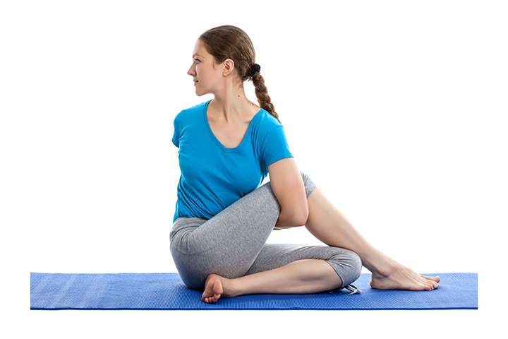 marichyasana for detox