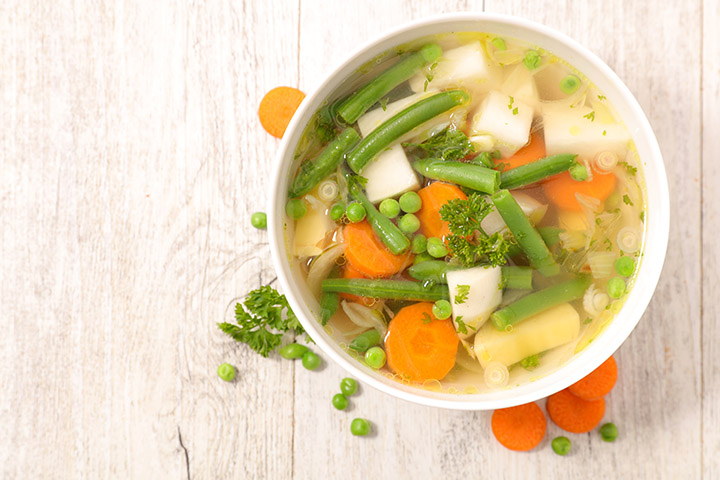 mixed vegetable soup for weight loss