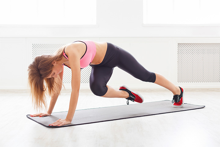 mountain climbers for muffin top