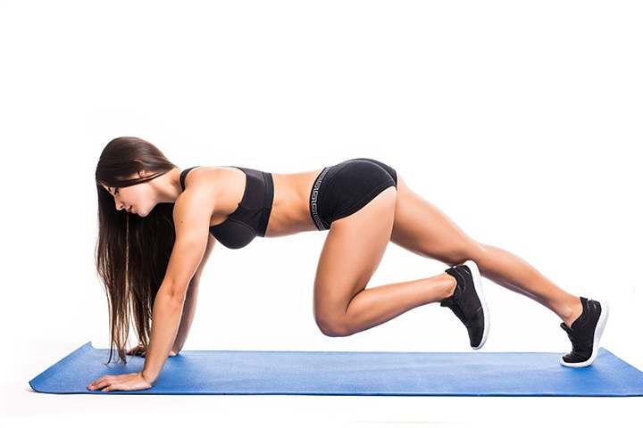 mountain climbers to burn fat