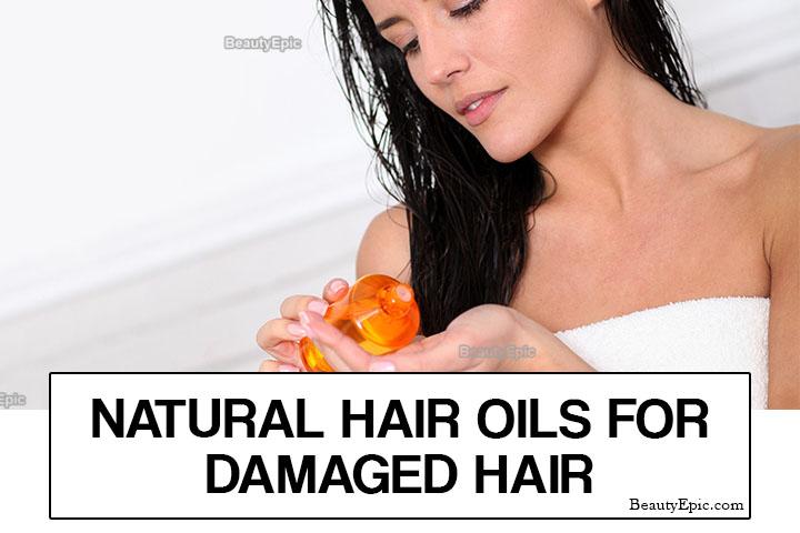 7 Best Natural Hair Oils for Damaged Hair