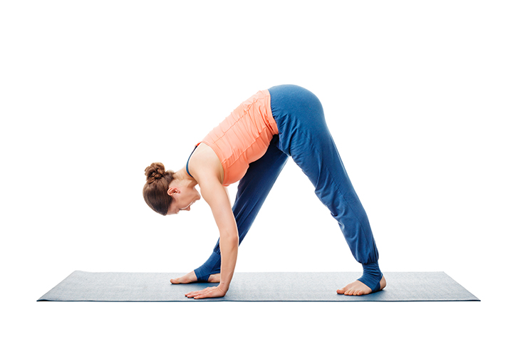 parsvottanasana pose for knee pain