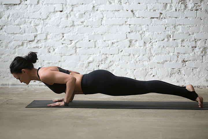 plank for shoulders