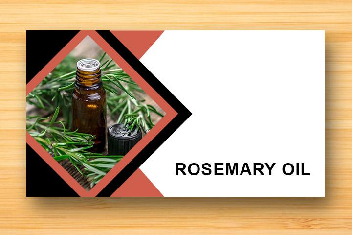 rosemary oil for damaged hair