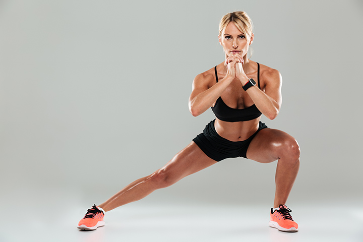 side lunges for saddlebags