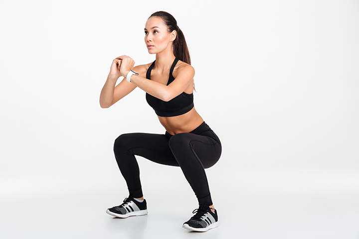 squats for pelvic floor strength
