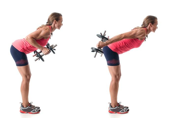 triceps kickbacks for flabby arms