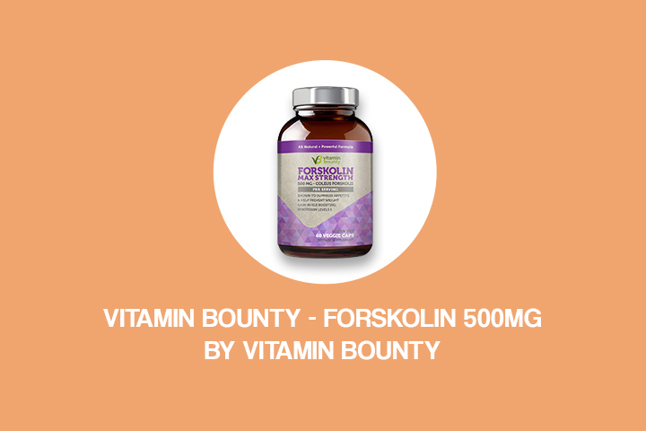 vitamin bounty - forskolin 500mg