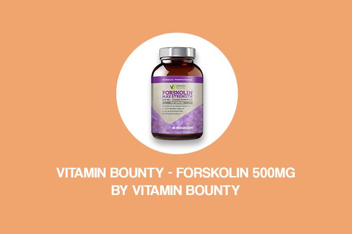 vitamin bounty - forskolin 500mg