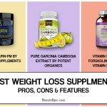15 Best Weight Loss Supplements: Pros, Cons and Features